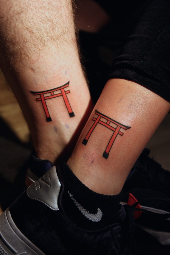 Souvenir tattoos