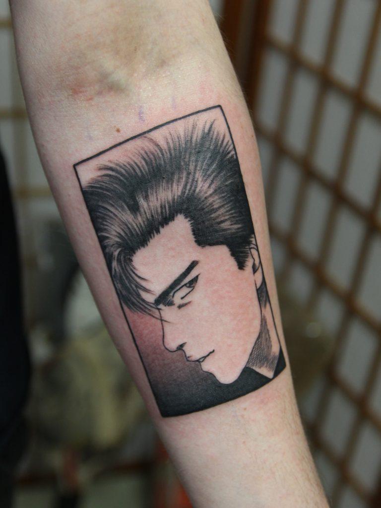 Japanese popculture tattoos